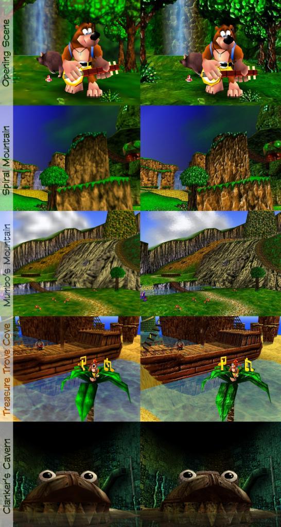 Rare Replay, une compilation de 30 jeux ... de chez RARE sur xbox One Banjo-10