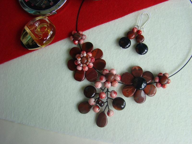 """""""Flori de piatră-Bijoux"""" albumul I-bijuterii artizanale marca Didina Sava - Pagina 10 Colier10"""