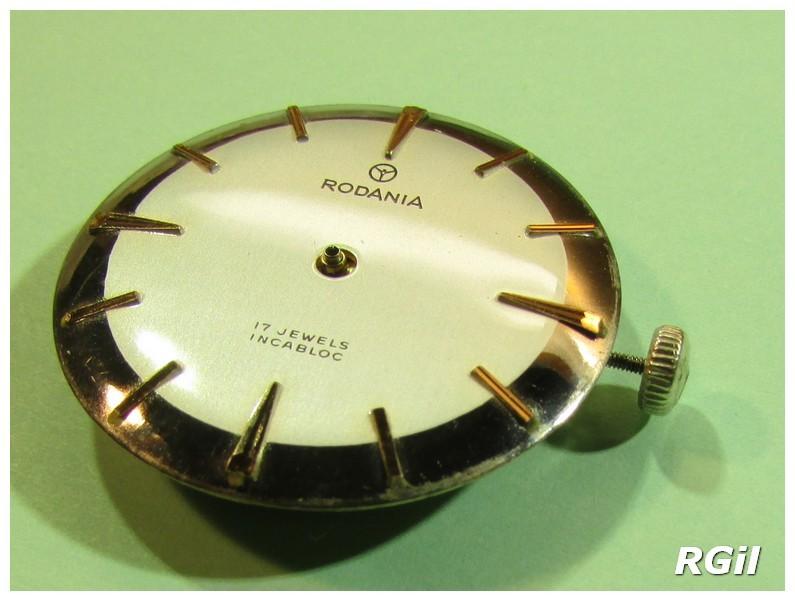 Révision d´une montre vintage Rodania. 633-ro10