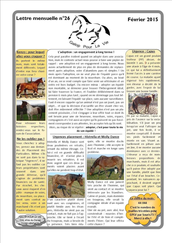 GPLV - Lettre mensuelle n°26 - Février 2015 Nl_fyv11
