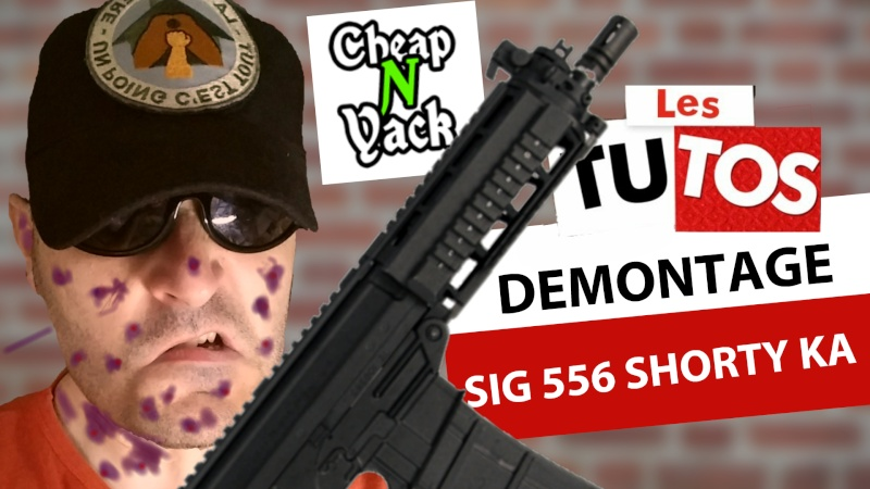 [KING ARMS] Tuto démontage du SIG 556 Shorty 14287610