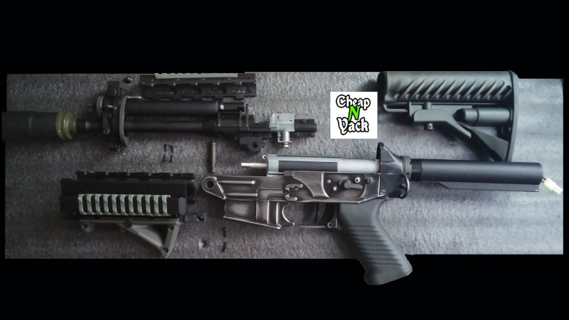 [KING ARMS] Tuto démontage du SIG 556 Shorty 14287613