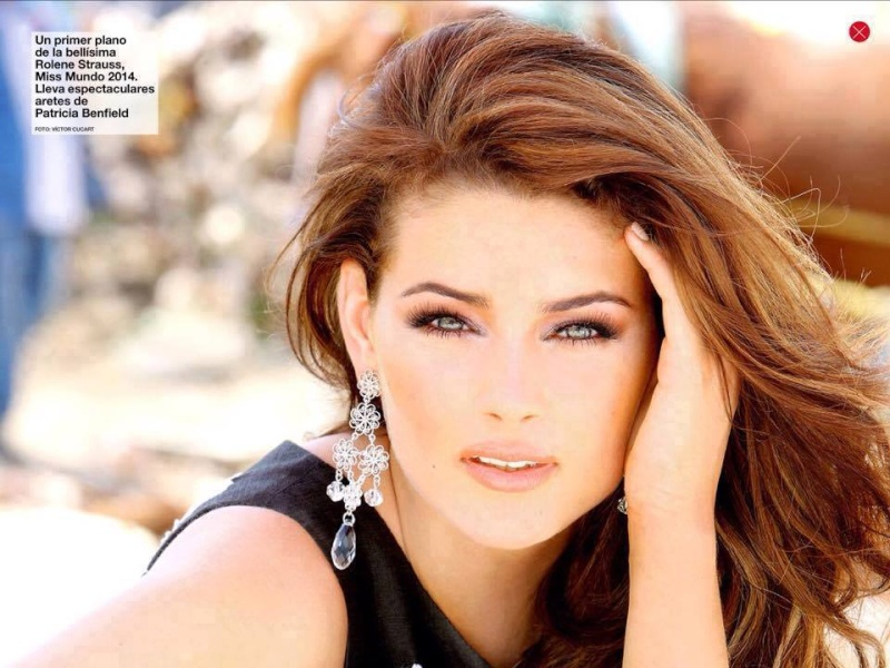 The Official Thread of Miss World 2014 ® Rolene Strauss- South Africa - Page 14 11895912