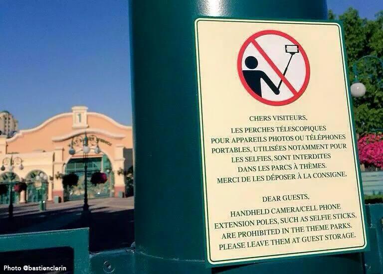 Les perches interdites dans les attractions de Disneyland Paris 11539610