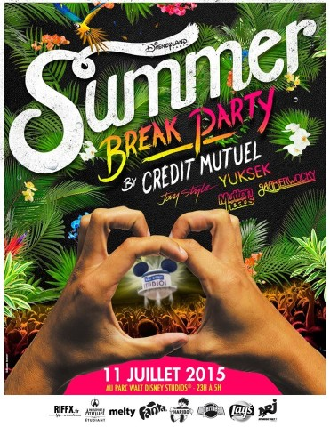 Le Crédit Mutuel et Disneyland Paris lancent la Summer Break Party Summer11