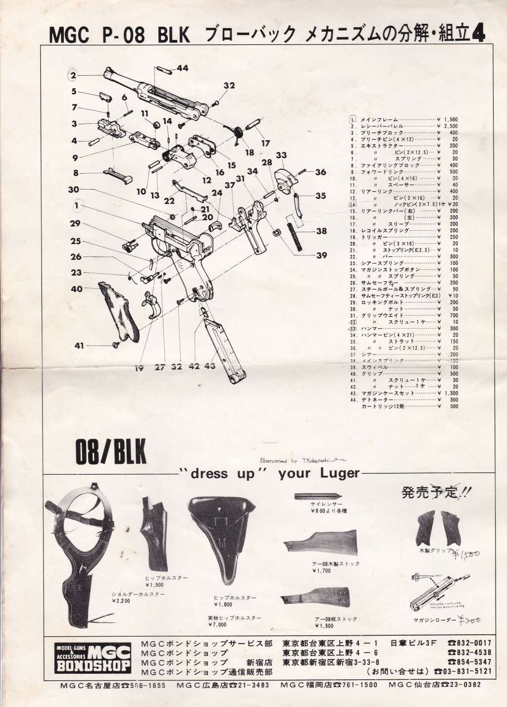 Mgc 1911 Parts Diagram Library Of Wiring Pistol Also With Colt Exploded P08 Abs Version Rh Mp40modelguns Forumotion Net Description Schematic Pdf