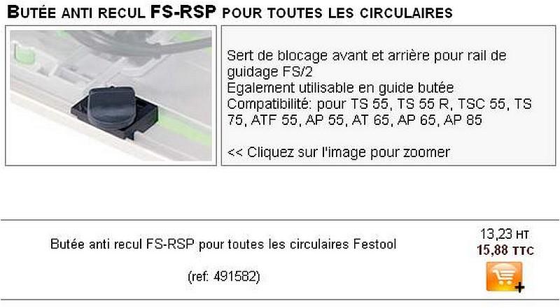 Pour 2 €, 2 accessoires Festools pour TS 55. Butoir10
