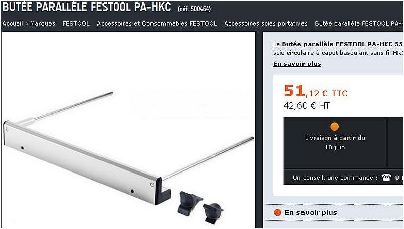 Pour 2 €, 2 accessoires Festools pour TS 55. Guide_10