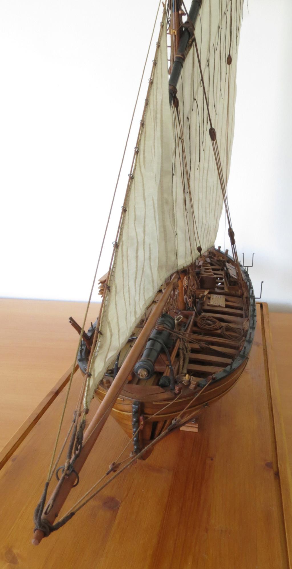 Corallina (paranzella) armata in guerra (pezzo in ferro da 18 libbre) - Marina Napoletana (flottiglia) 1811 - scala 1:24 - di Riccardo Mattera - Pagina 10 Img_4414
