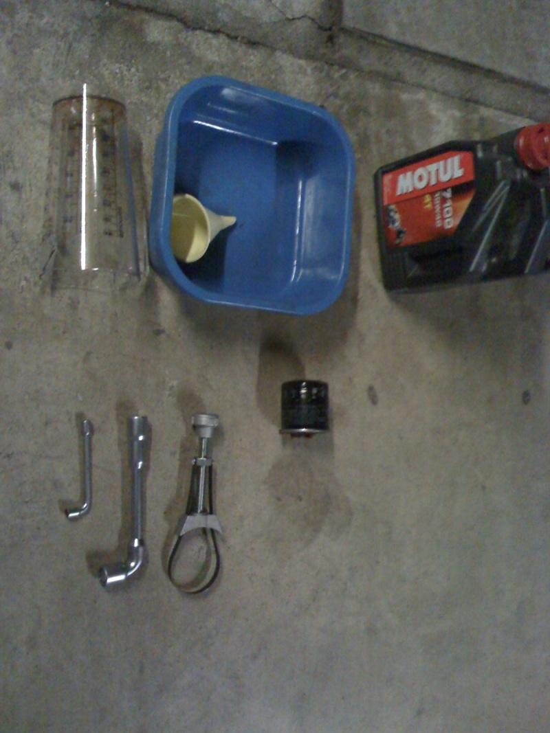 Tuto pour vidange huile moteur 26-01-10