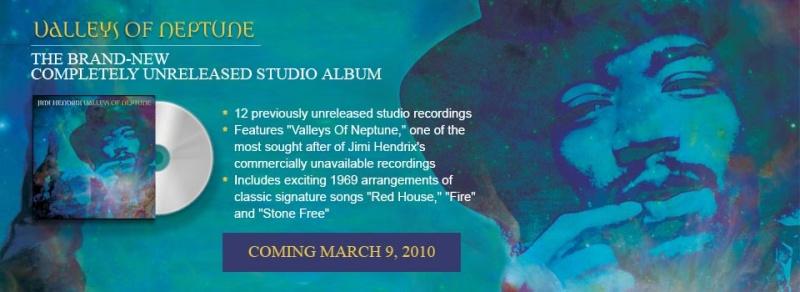 Valleys Of Neptune - Jimi Hendrix Z10