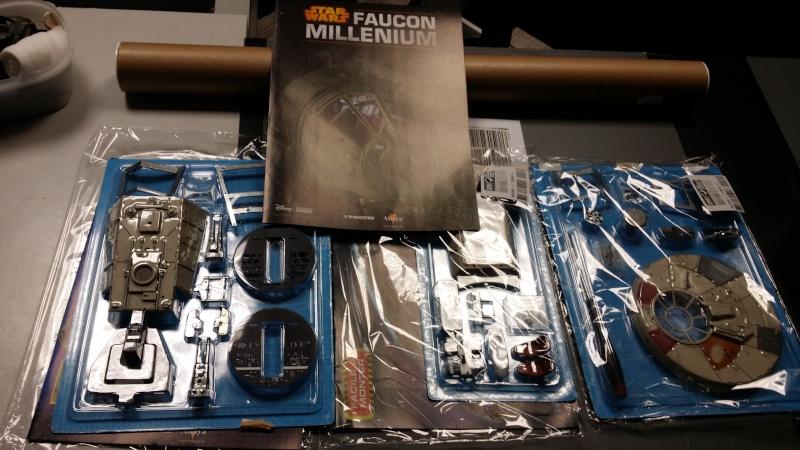 Le FAUCON MILLENIUM 1/43 de chez ALTAYA 20150736