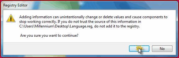 حل مشكلة إختفاء أيقونة اللغة من شريط المهام في نظام ويندوز 7 22222210