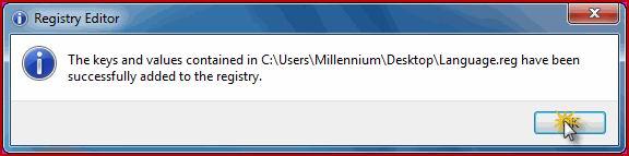 حل مشكلة إختفاء أيقونة اللغة من شريط المهام في نظام ويندوز 7 33333310