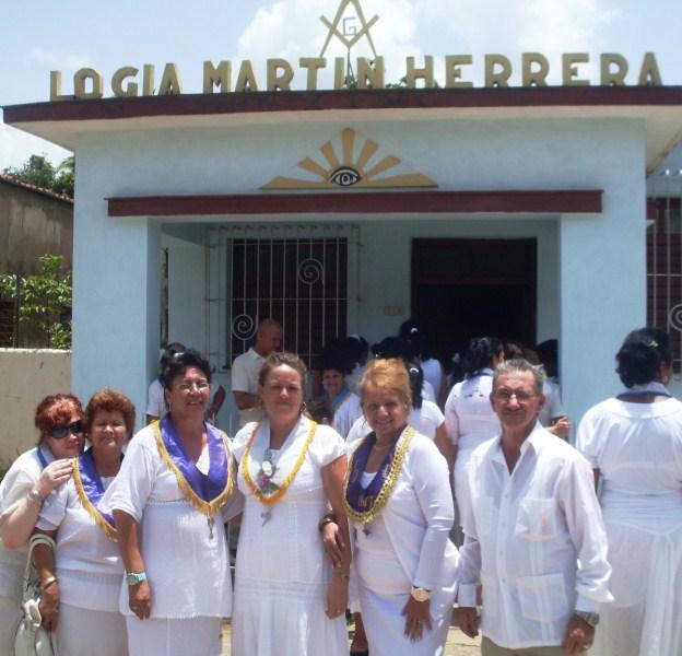 ABREN NUEVA LOGIA FEMENINA EN CUBA Frente10