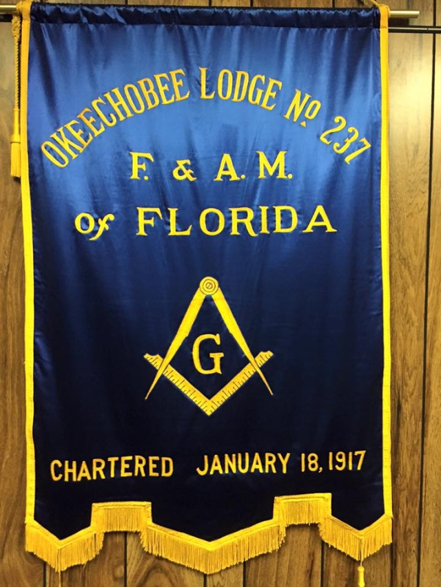 Grand Master Boring's first official visit to District #30 in Okeechobee, Florida Oke10