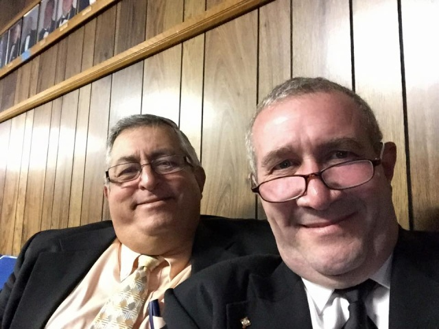 Grand Master Boring's first official visit to District #30 in Okeechobee, Florida Oke710