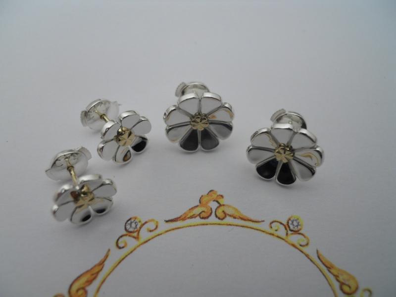 B.O. fleurs argent et or Dscn7710