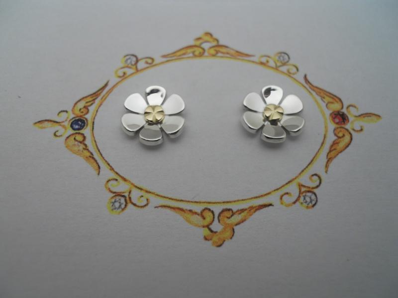 B.O. fleurs argent et or Dscn7713