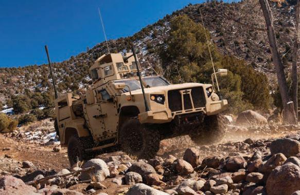 Le Pentagone a choisi le L-ATV d'Oshkosh pour remplacer le Humvee Jltv-210