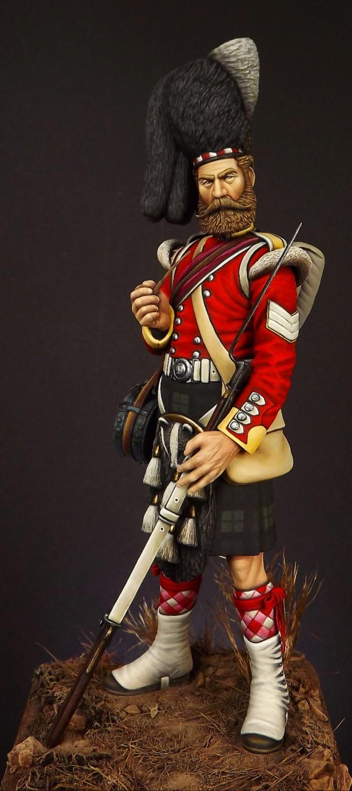 Colour Sergeant of the 93rd. Balaclava 1854. 001a11