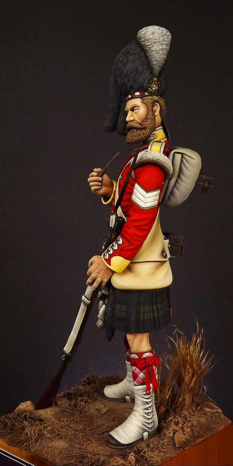 Colour Sergeant of the 93rd. Balaclava 1854. 002a10