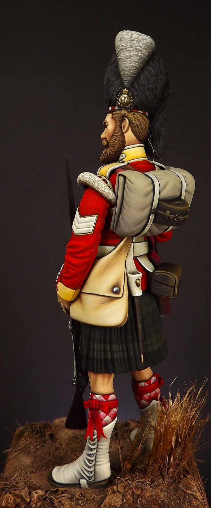 Colour Sergeant of the 93rd. Balaclava 1854. 003a10