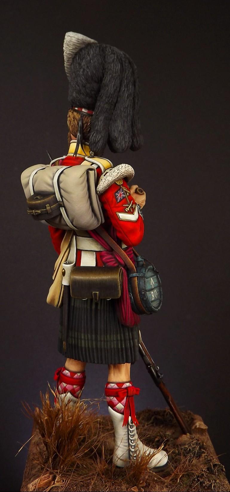 Colour Sergeant of the 93rd. Balaclava 1854. 005a10