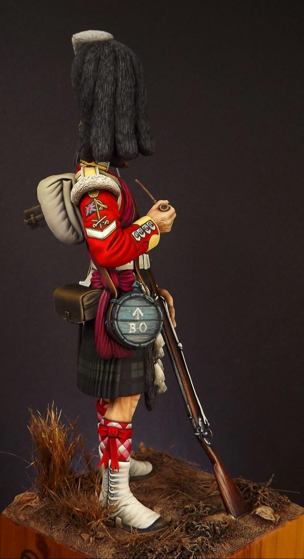 Colour Sergeant of the 93rd. Balaclava 1854. 006a10