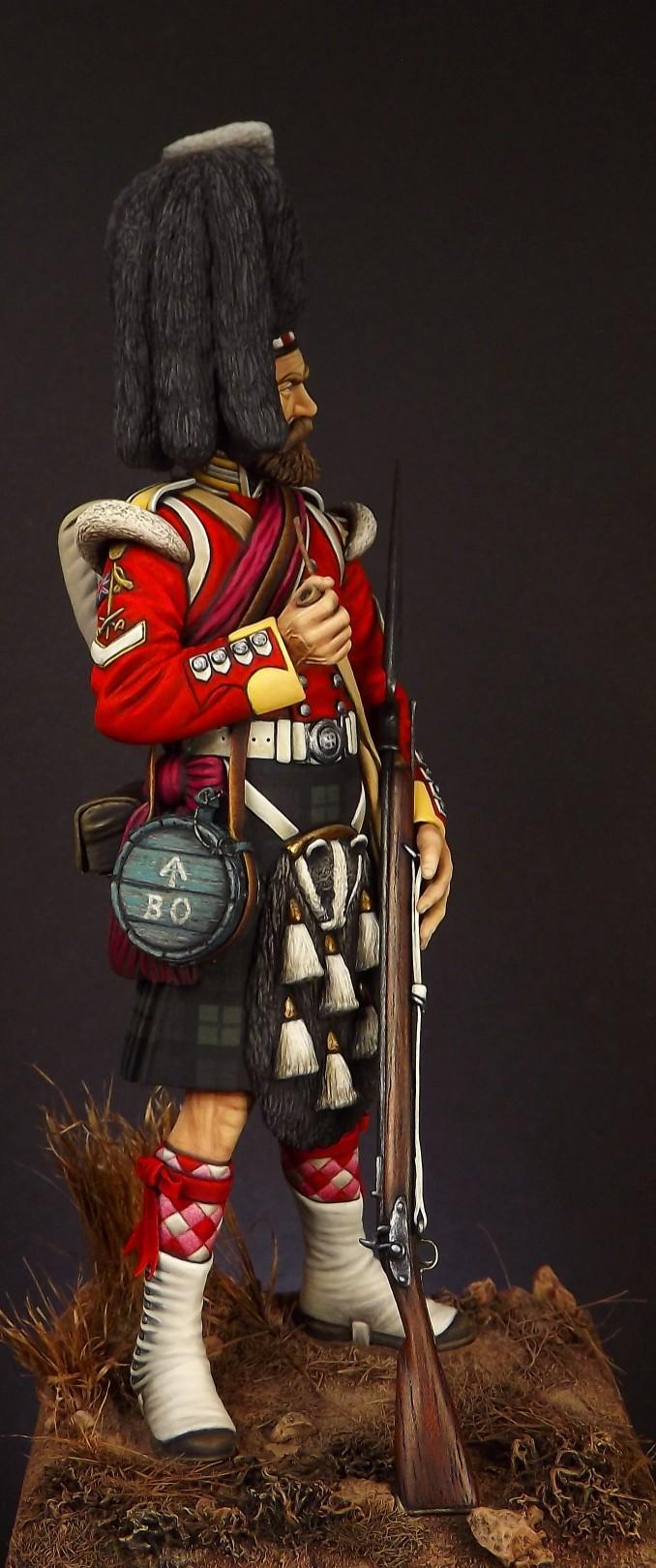 Colour Sergeant of the 93rd. Balaclava 1854. 007a10