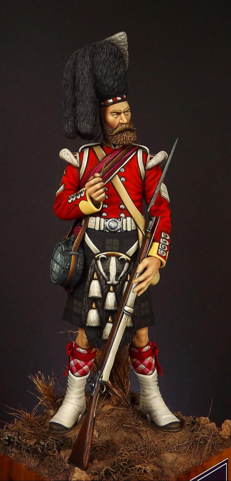 Colour Sergeant of the 93rd. Balaclava 1854. 008a10