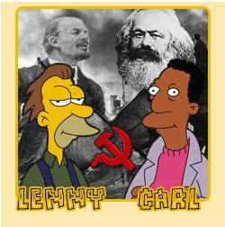 Propaganda comunista en los Simpson xD Lennyy10
