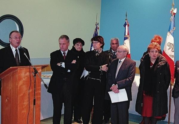 Lycée La Martinière-Monplaisir (Lyon 8) Cérémonie en mémoire de 33 martyrs de la Résistance Caremo11