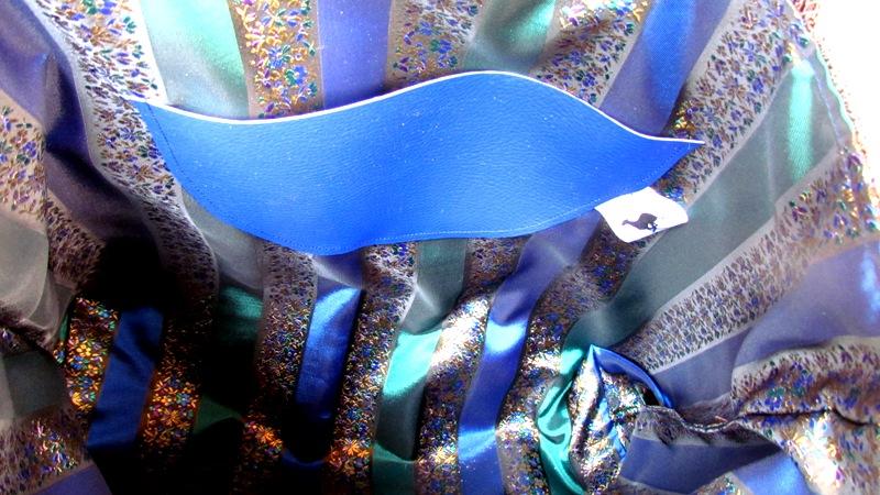 """Cabas """"BLU GALGO""""piece unique  Cabas_12"""