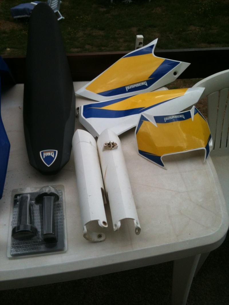 Vend plastiques Husaberg 300 te Plasti12