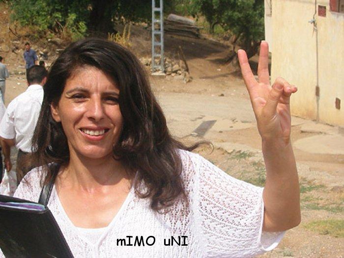 Kamera , une femme a la tete du Congrès mondial Amazigh Kamera10