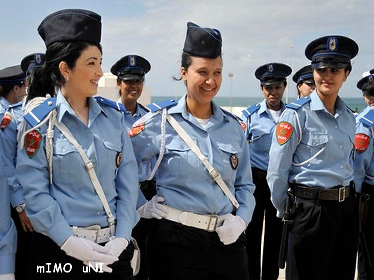 Hommage a la police feminine Marocaine Police10