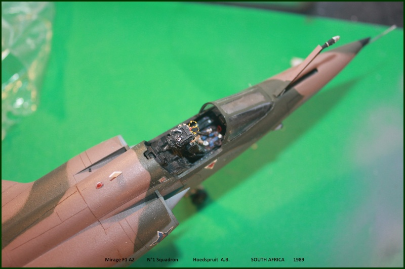 Mirage F1  AD / AZ Italeri 1/48 - Page 2 F1az110