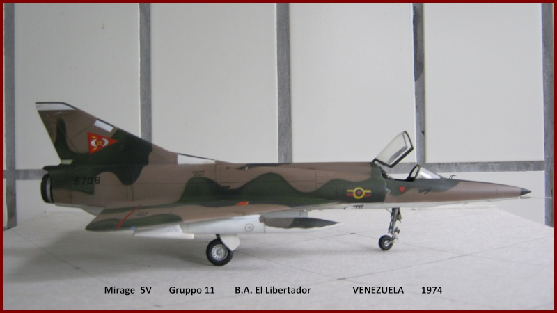 Mirage 5 V  Venézéula Mirag_11