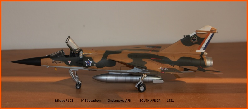 Mirage F1 CZ 1/48 Esci / Italeri Saafmf10