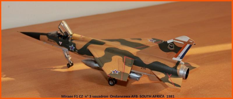 Mirage F1 CZ 1/48 Esci / Italeri Saafmf13