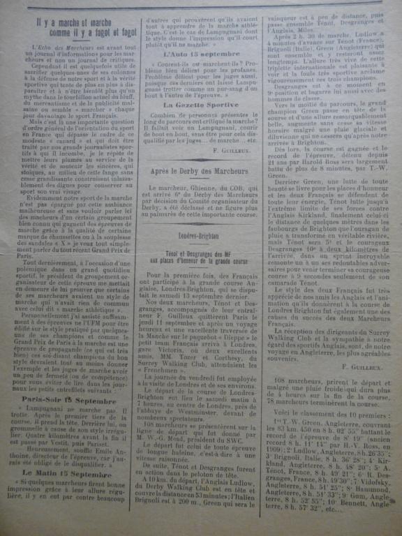 L'écho des Marcheurs - Oct 1930 P1270316