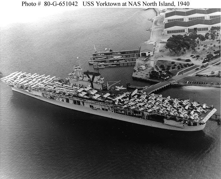 Les porte-avions americains 194010
