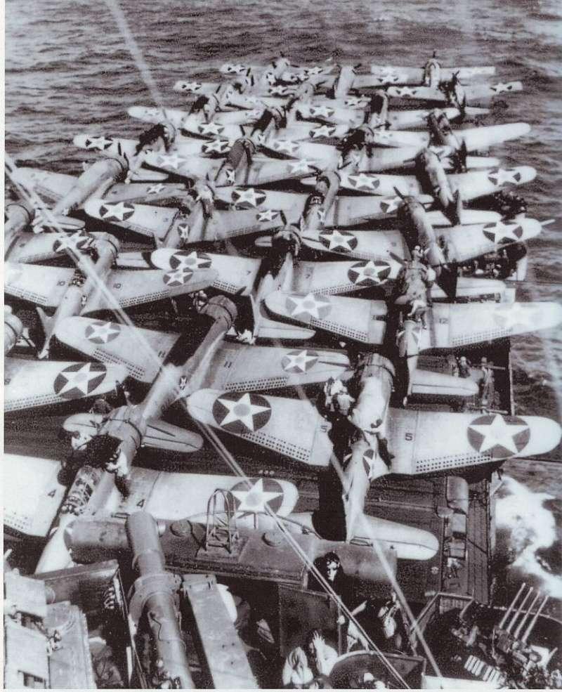 Les porte-avions americains Aa18