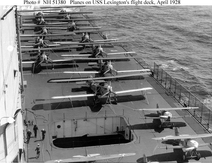 Les porte-avions americains Lexing11