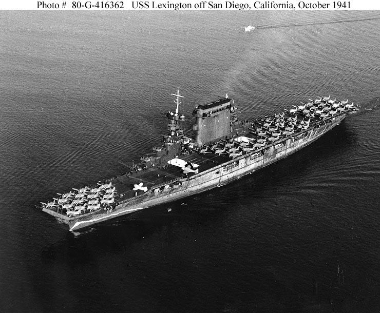 Les porte-avions americains Lexing13