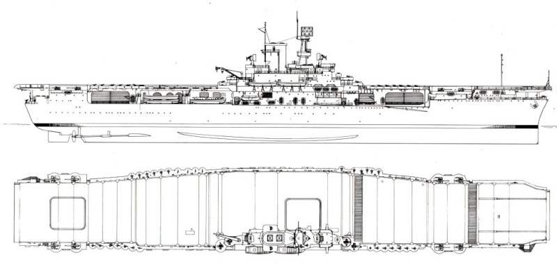 Les porte-avions americains Ww112