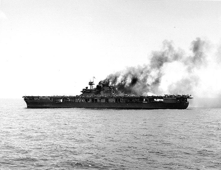 Les porte-avions americains Yorkto11