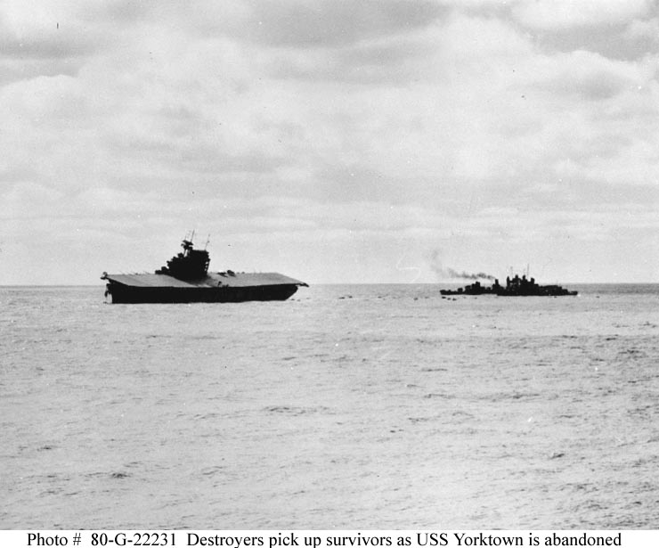 Les porte-avions americains Yorkto14