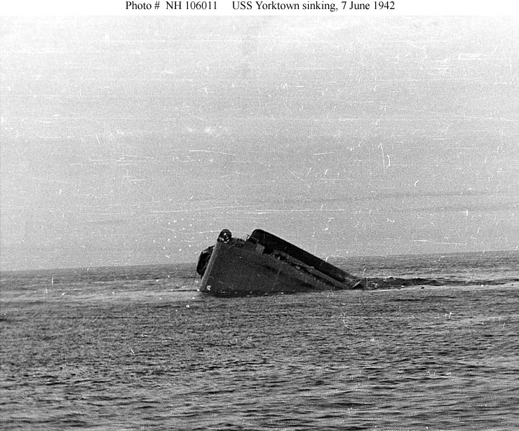 Les porte-avions americains Yorkto15